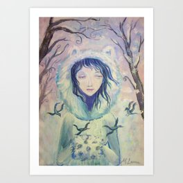 Winter For A Year Art Print