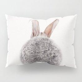 Bunny Tail, Bunny Rabbit, Baby Animals Art Print By Synplus Pillow Sham