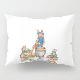Too Many Cooks Make a Powerful Broth Pillow Sham