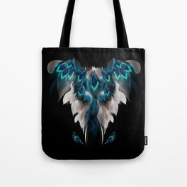 Lost among many feathers Tote Bag