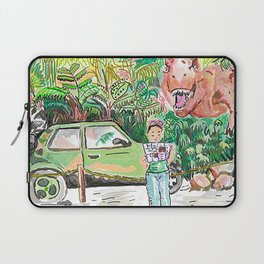 Dino Trouble Laptop Sleeve