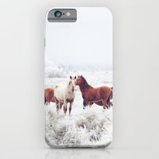 Winter Horseland iPhone 6s Slim Case