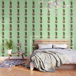 Pinebrain (pineapple) Wallpaper