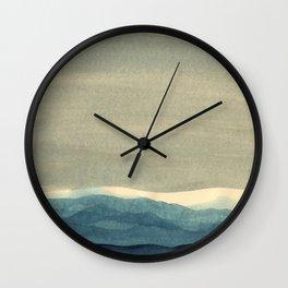 Grey Landscape Wall Clock