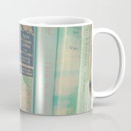 Aqua Mint Books Coffee Mug
