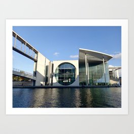 Bundestag - Annex Building - Berlin, Germany Art Print
