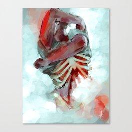 the head; the heart Canvas Print