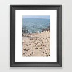 On to the Horizon Framed Art Print
