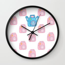 We are watching you. Say Cheese!!! Wall Clock