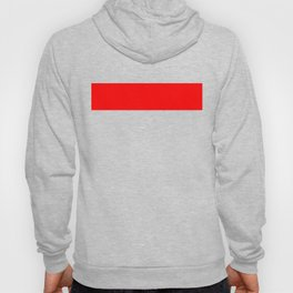 ff0000 Bright Red Hoody