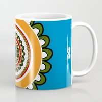 mexican Mugs featuring Mexican  by Petya Hadjieva (ragerabbit)