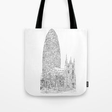 The Gherkin Tote Bag