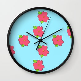 homer´s fat dress Wall Clock