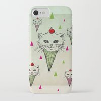 kittens iPhone & iPod Cases featuring kittens by blueart