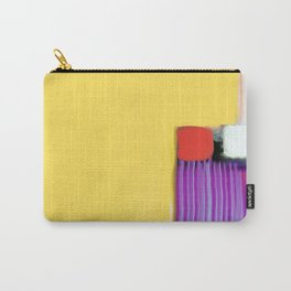 Blue Strings Carry-All Pouch