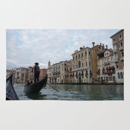 A Gondola Ride With Luca in Venice Rug