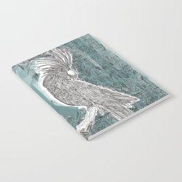 Blue Cockatoo Notebook
