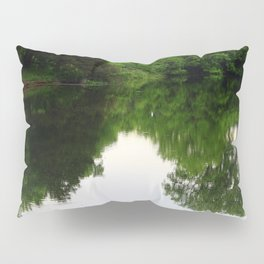 The World in Nature's Mirror Pillow Sham