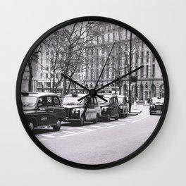 Look Left Wall Clock