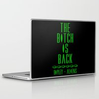 aliens Laptop & iPad Skins featuring Aliens by SwanniePhotoArt