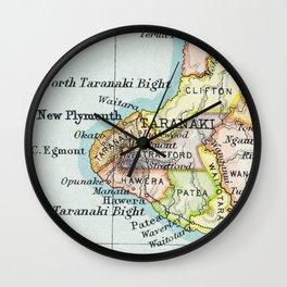 Taranaki Wall Clock