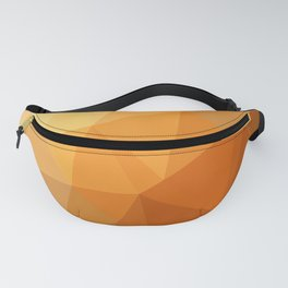 Shades Of Orange Triangle Abstract Fanny Pack