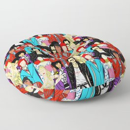 Retro Party 1 Floor Pillow