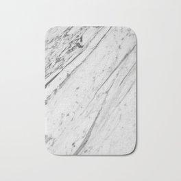 Classic White Marble #2 #decor #art #society6 Bath Mat