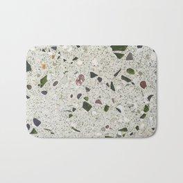 green Terrazzo Bath Mat