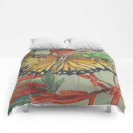 Gulf Fritillary Comforters