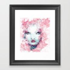 Butterfly Lady II Framed Art Print
