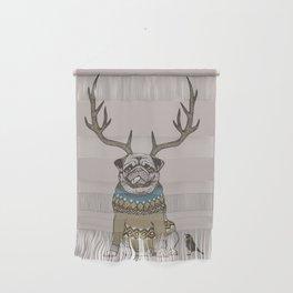 Deer Pug Wall Hanging