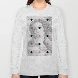 Geometric pattern x classic art Long Sleeve T-shirt