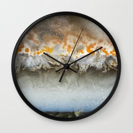 Clouds of Jupiter Agate 0832 Wall Clock