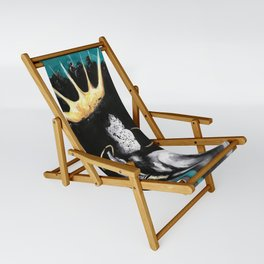 Naturally Queen VI  TEAL Sling Chair