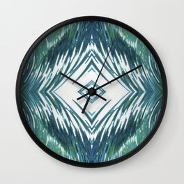 Surfer Waves Ocean Pattern Wall Clock