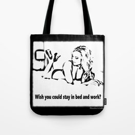In Bed Tote Bag