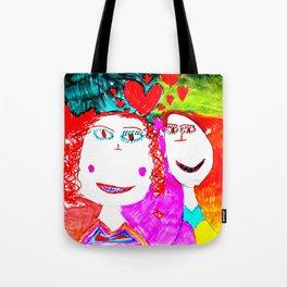 LOVE iN CHiLDHOOD Tote Bag