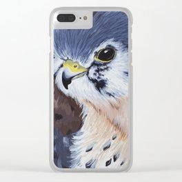 American Kestrel Clear iPhone Case