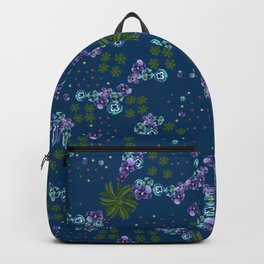 Floral croquis Backpack