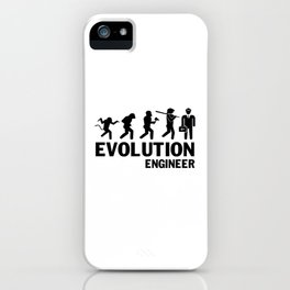Evolution - Engineer iPhone Case