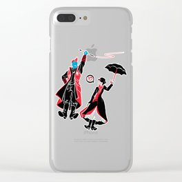 I'm Marry Poppins y'all! Clear iPhone Case
