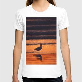 Gull at Rockaway Beach T-shirt