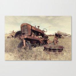 Derelict Marshall Canvas Print
