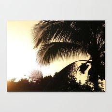 PALM PARADISE Canvas Print