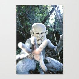 Papua New Guinea Ghost Canvas Print