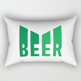 Beer lovers design  #society6 #decor #buyart #artprint Rectangular Pillow