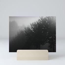 Trees in the Mist (1) Mini Art Print