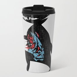 Happy Go Lucky Metal Travel Mug