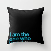 breaking bad Throw Pillows featuring Breaking Bad by tycejones